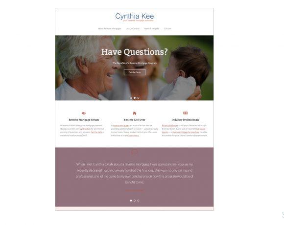 Cynthia Kee Reverse Mortgage